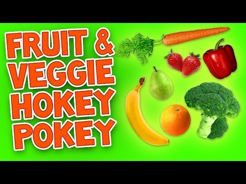Hokey Pokey (Fruit and Veggie) - Kids Dance Songs - Children's Songs by The Learning Station
