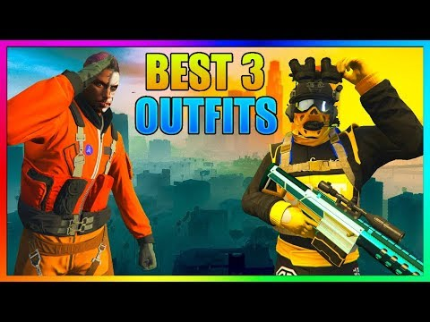 GTA 5 ONLINE - TOP 3 CLOTHING GLITCHES & MODDED OUTFITS After Doomsday Heist (Clothes Glitches 1.42)
