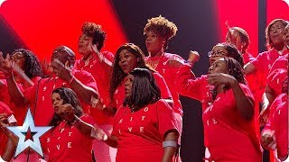 INSPIRATION ALERT! B Positive Choir RISE UP in the BGT Final! | The Final | BGT 2018