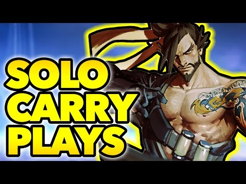 Overwatch Solo Carry #14