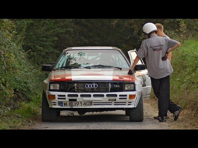 CLASSIC RALLY ClassicAuto Dębica || Audi Quattro, Escort Cosworth, Capri, Datsun, Porsche PURE SOUND