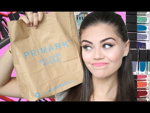 TESTING OUT PRIMARK MAKEUP!