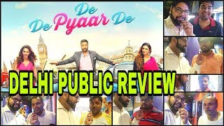 De De Pyar De PUBLIC REVIEW REACTION 2019 | First Day First Show | Ajay Devgn Movie |