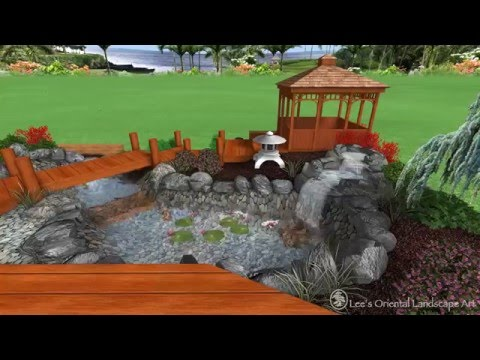 Japanese Garden Design - Ft. Washington, MD - Backyard Area