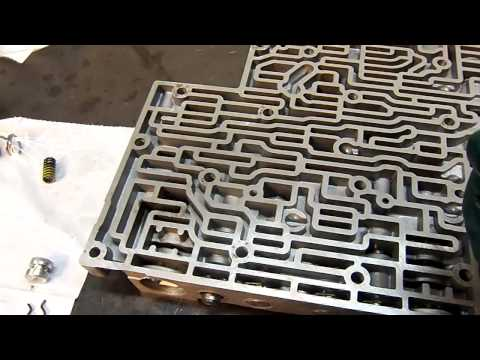 4L60E Transmission P1870 Transmission component slipping (early valve body) - Transmission Repair