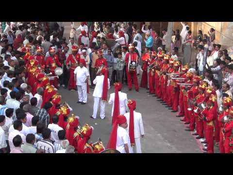 Hindu Jea Band, Jaipur performance on Gangour Festival Jaipur 2013 (Day 1)