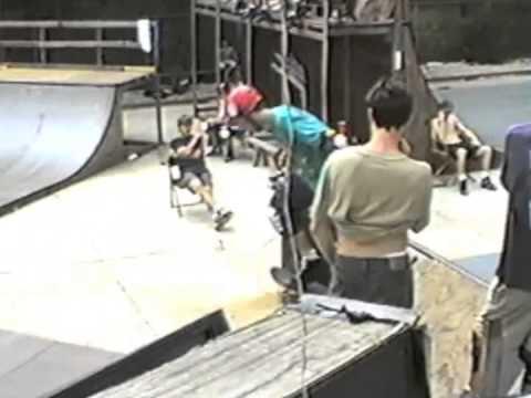 Skatepark of Houston 1991 Ninja Ramp contest mini ramps
