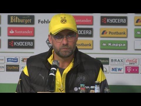 Pressekonferenz: Jürgen Klopp kommentiert die Niederlage in Mönchengladbach (1:3) | BVB total!
