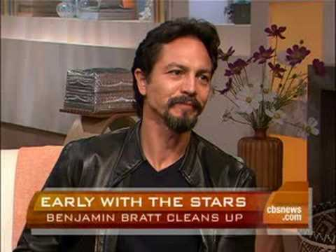 Benjamin Bratt Cleans Up Video