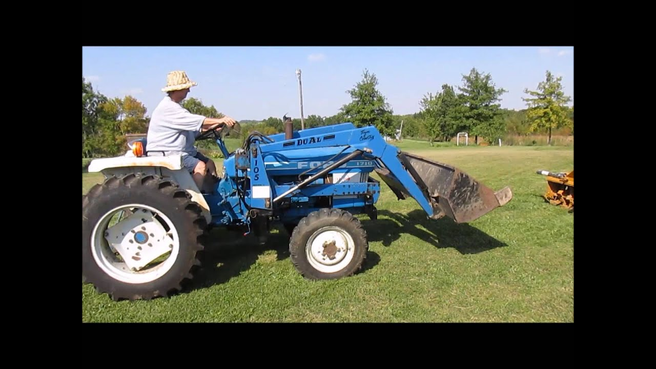 Ford 1710 Mfwd Tractor For Sale