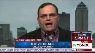 Steve Deace on MSNBC | March 1, 2016 | Ted Cruz for President