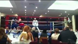 Jose Cardenal (Welterweight) @ Fight Night, Kassam Stadium, Oxford, UK 20-04-2012. Winner TKO 2nd ro