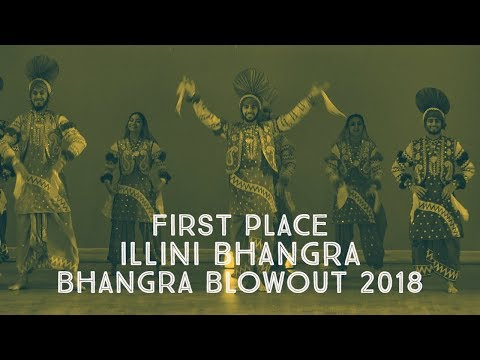 Illini Bhangra - First Place @ Bhangra Blowout 2018