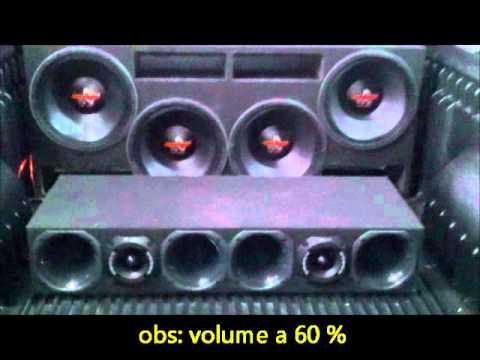 hard power 550 rms + taramps 2.7  by prime sound car ((video novo ja com ultravox 650 +hd5k))