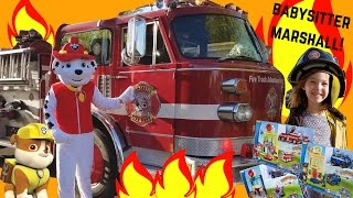 Kids Variety Show ~ Paw Patrol Marshall Fire Truck! ~ Episode 4