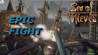 EPIC GHOST SHIP BATTLE - Sea of Thieves clip 2