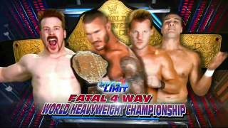 WWE Over The Limit 2012 Full Match Card 2012 [ HD ]