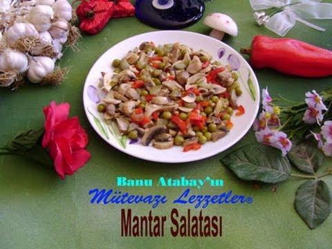 Mantar Salatası (Salata Tarifleri)