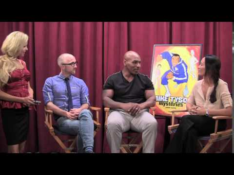 Mike Tyson & Jim Rash talk