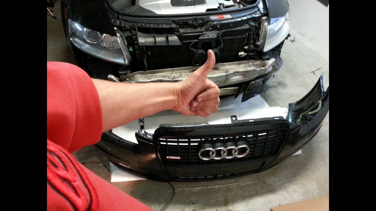 Audi A6 4f Frontsto 223 Stange Einbauen Ausbauen