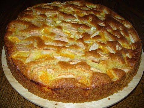 """Готовим вместе Яблочный пирог """"Шарлотка Cooking together Apple Pie"""