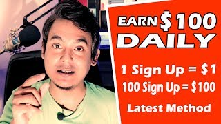 Earn $100 Daily Doing Sign Up ||$1 For 1 Sign Up $100 For 100 Sign Up|| Work From Home