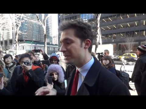 Reddit co-founder discusses SOPA at New York protest
