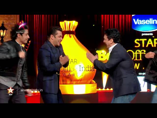 Bollywood superstars share the stage on STAR Box Office India Awards