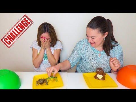 ШОКОЛАД против НАСТОЯЩЕГО игрушки vs шоколада ЧЕГО Я ИСПУГАЛАСЬ Chocjlate vs Real CHALLENGE