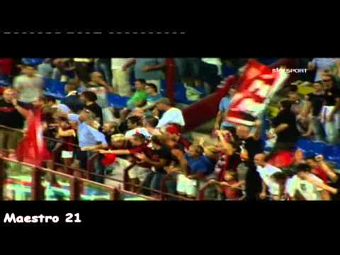 Pato First Goal on Lecce - Sky Sport Commentary 29/08/2010
