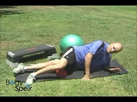 Thigh, IT Band myofascial release: BodySpex fitness with Jai