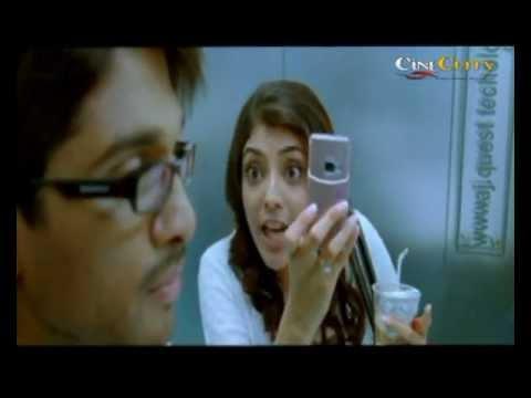 Allu Arjun Kajal Aggarwal Lip To Lip Kissing Arya 2