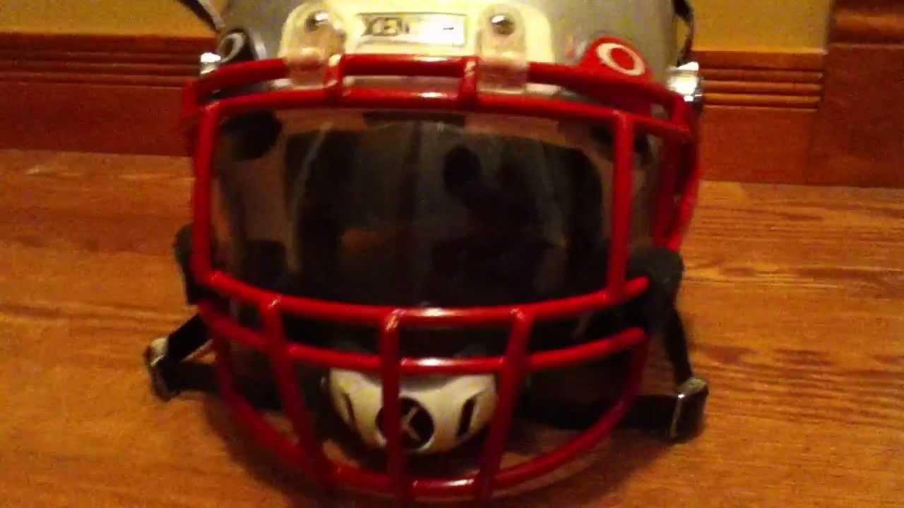 my xenith football helmet