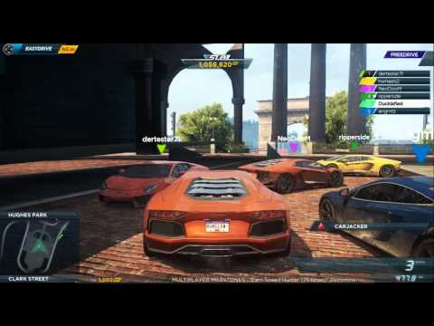 Need For Speed Most Wanted 2012 Glitch into building and others PS3