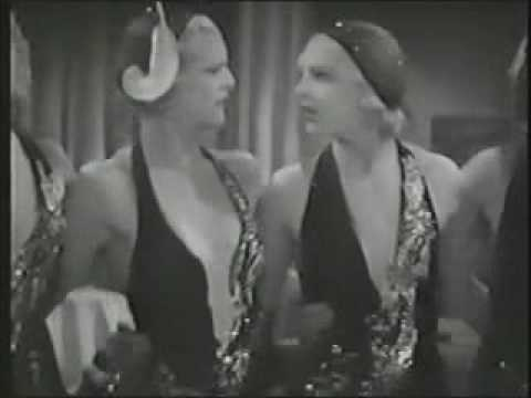 """Mae Clarke and chorus dance to """"Who's your Little Who-Zis?"""" from 1932."""