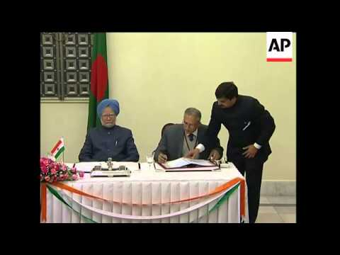 India, Bangladesh sign agreements on security, drug trafficking