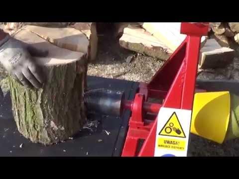 Łuparka świdrowa do drewna wom AGRO-RAF