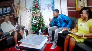 Akrobeto and Funny Face presenting on UTV
