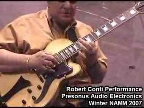 Jazz Guitar Robert Conti Performance