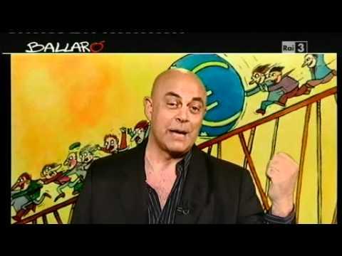 """Ballarò – MAURIZIO CROZZA 19/06/2012 – """"Una settimana di ferie in meno"""""""