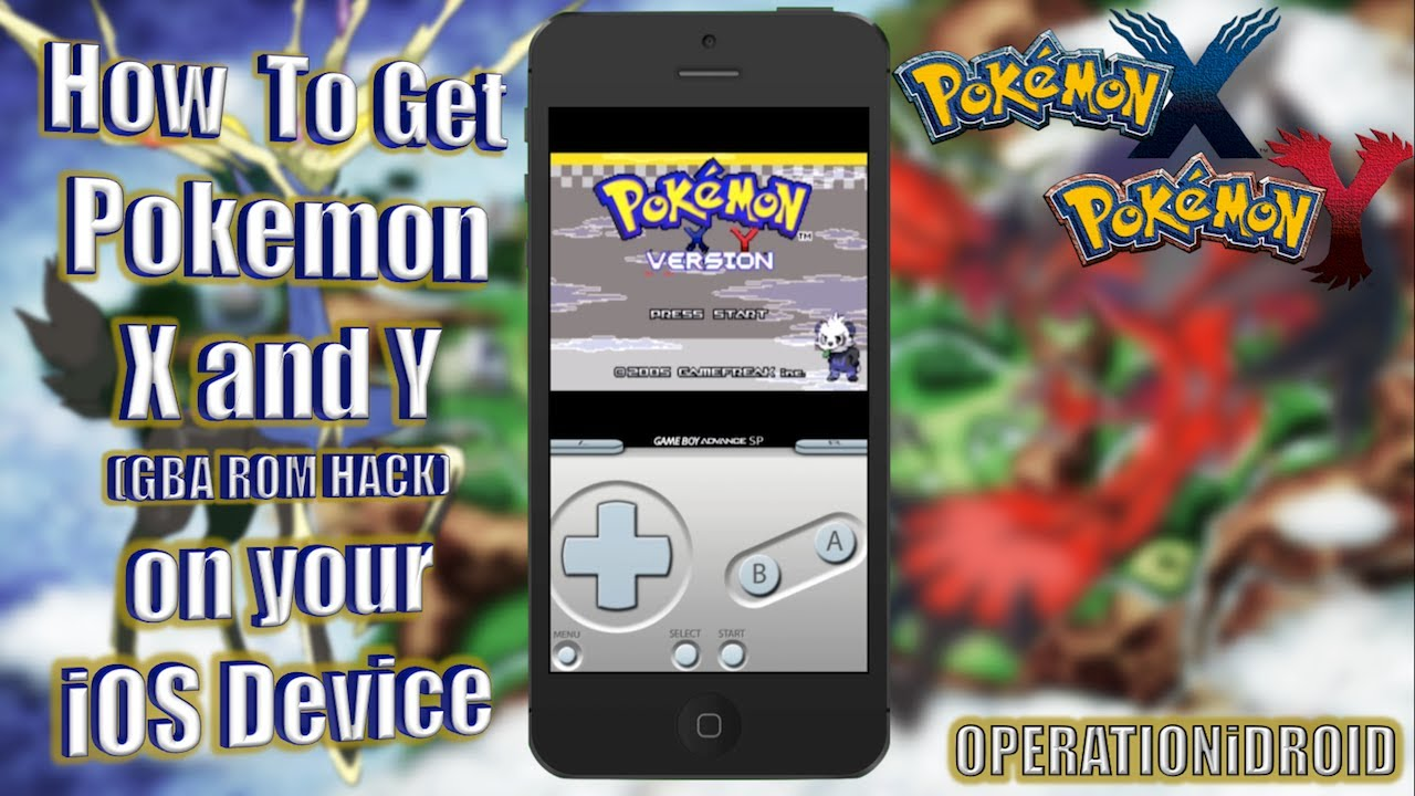 Pokemon Black And White Gba Hack Pokemon X&y Gba Rom Hack on