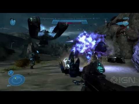 Halo: Reach Demo - E3 2010 (MS Conference) Video
