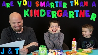Are You Smarter Than A Kindergartner / Jake and Ty