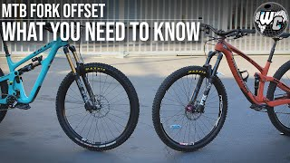 MTB Fork Offset - What Is It and Does It Really Matter?