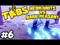T.A.B.S. Totally Accurate Battle Simulator - NEON UNITS VS DARK PEASANT (TABS Closed Alpha Gameplay)