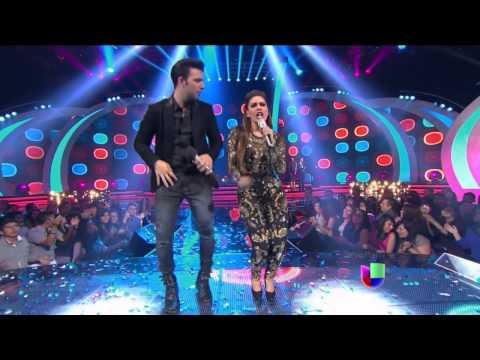 Galilea Montijo cantando en Va por Ti