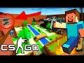 Minecraft в CS:GO - ЧИТЫ НА СКОРОСТЬ | БЕЗ МОДОВ