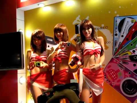 20101204 99年資訊月PENTAX Showgirls 之2