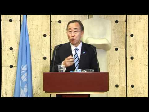 UN Chief launches 2011 MDGs Report in Geneva