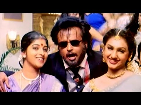 O Kick Ekkele Full  Video Song    Narasimha Movie    Rajnikanth, Soundarya, Ramya Krishna video